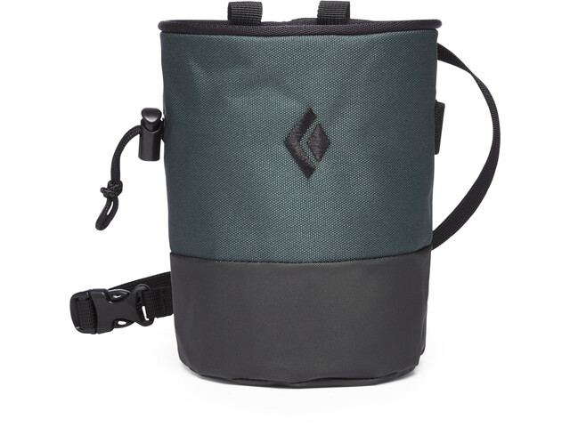 Black Diamond Mojo Zip Chalk Bag Deep Forest/Slate